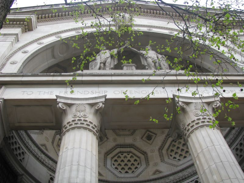 Bush House, former home of the BBC